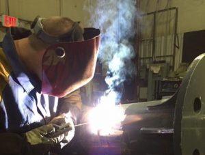 Pipe Welding, Chris- Townsend Machine, NJ
